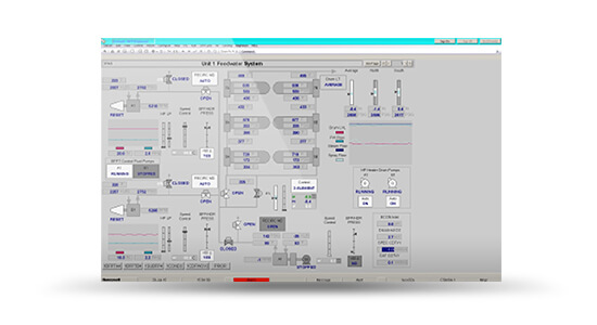 HONEYWELL EXPERIONHoneywell Experion HMI from Actual Plant