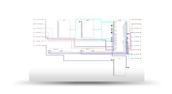 ABB ADVANT CONTROLLER 450ABB AC450 logic screenshot from SimGenics