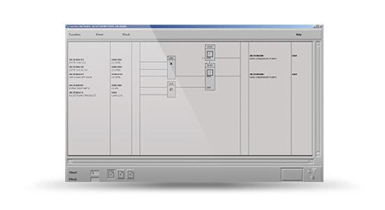 ABB PROCONTROL P14ABB Procontrol P14 logic screenshot from Actual Plant