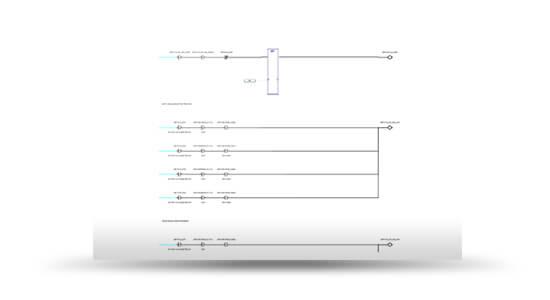 GE MACHINE EDITION LADDER LOGICGE Ladder logic screenshot from SimGenics