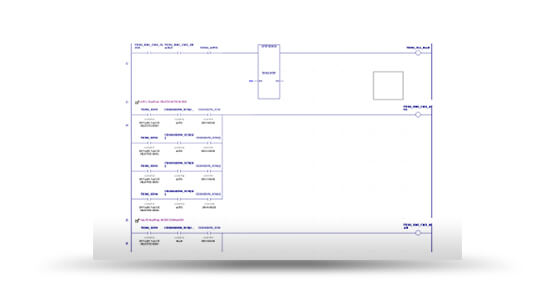 GE MACHINE EDITION LADDER LOGICGE Ladder logic screenshot from Actual Plant